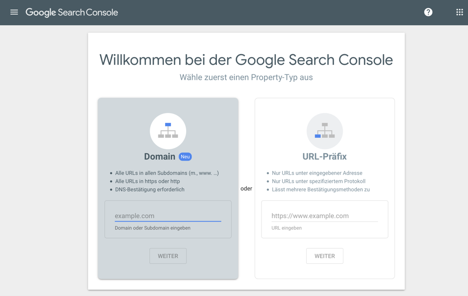 Google-Searchconsole