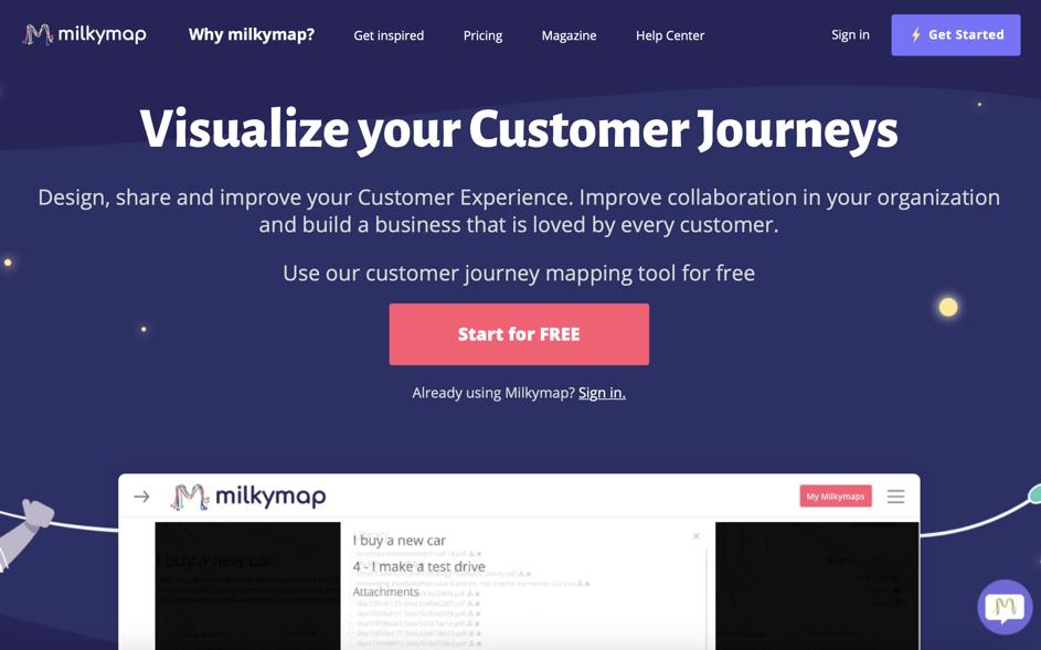 Screenshot-customer-journey-map-tool-Milkymap