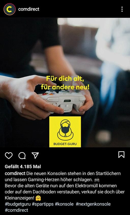 Instagram Captions Comdirect 2