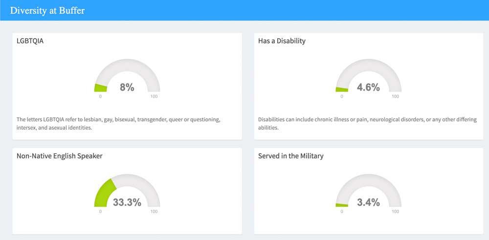 Der Diversity Index bei Buffer