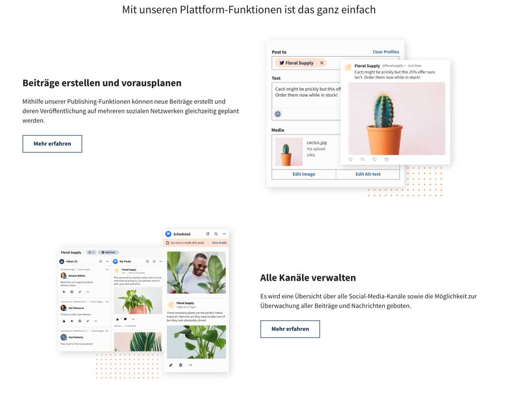 MarTech Marketing: Hootsuite Website