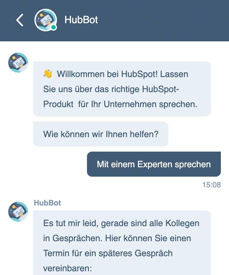 MarTech Marketing: HubBot Hubspot