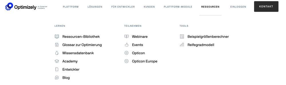 MarTech Marketing: Optimizely Website