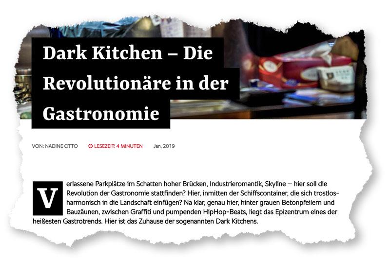 Case: Dark Kitchen