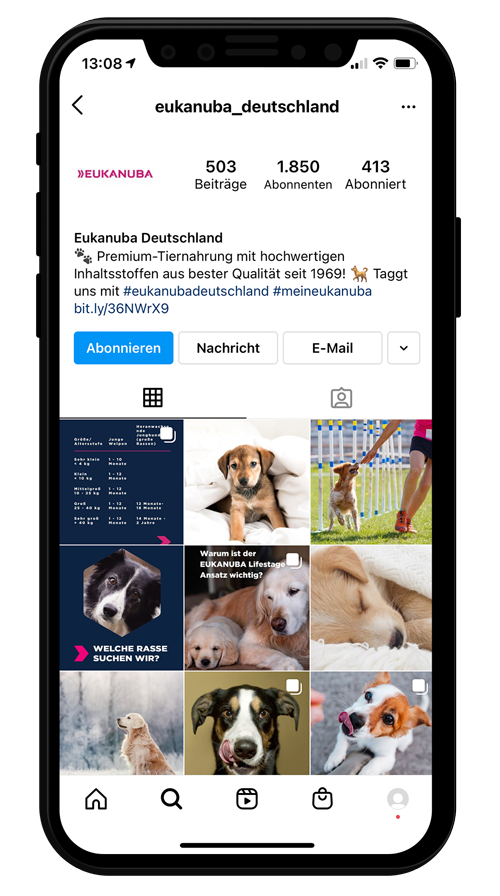 Instagram Account eukanuba