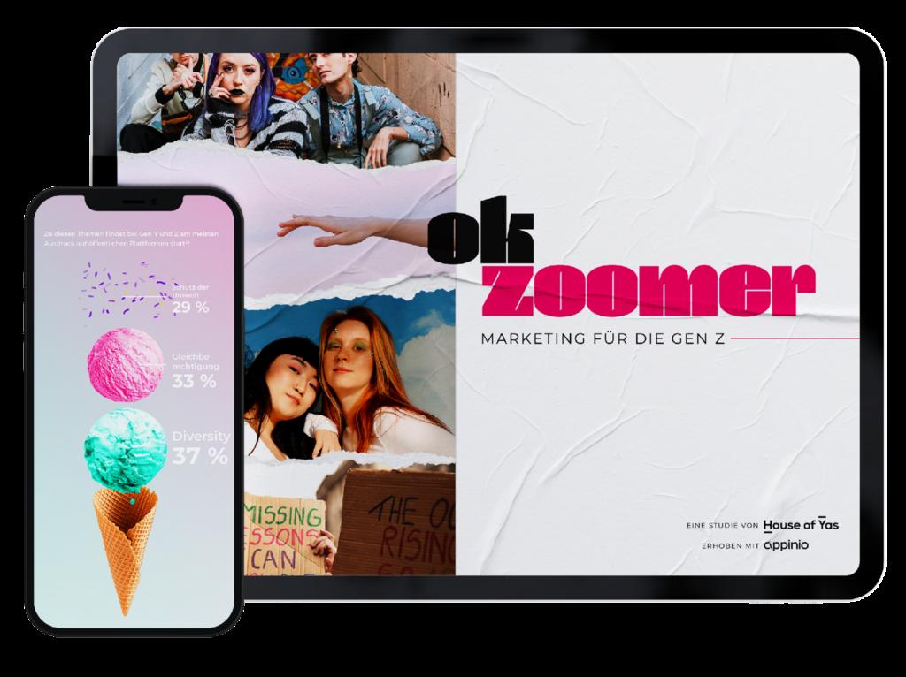 Studie: Ok Zoomer - Marketing für die Gen Z