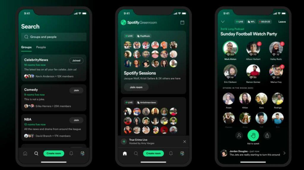 Spotify: Clubhouse Konkurrenz nimmt Fahrt auf